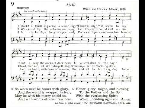 Hark! A Thrilling Voice is Sounding (Merton)