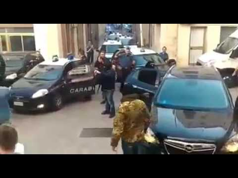 Gis e Cacciatori  Calabria  festeggiano la cattura di Ernesto Fazzalari