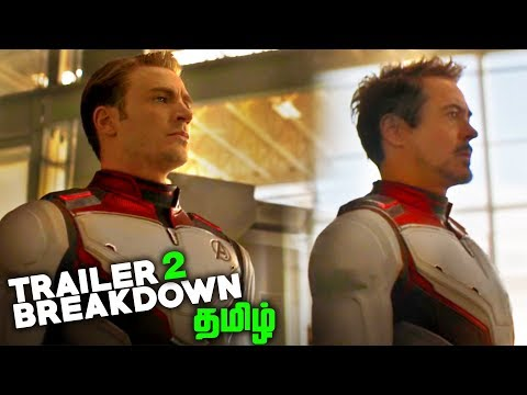 Avengers 4 ENDGAME Trailer 2 BREAKDOWN (தமிழ்)