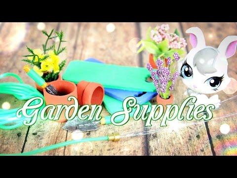 DIY - How to Make Doll Garden Supplies - Handmade - Doll - Crafts