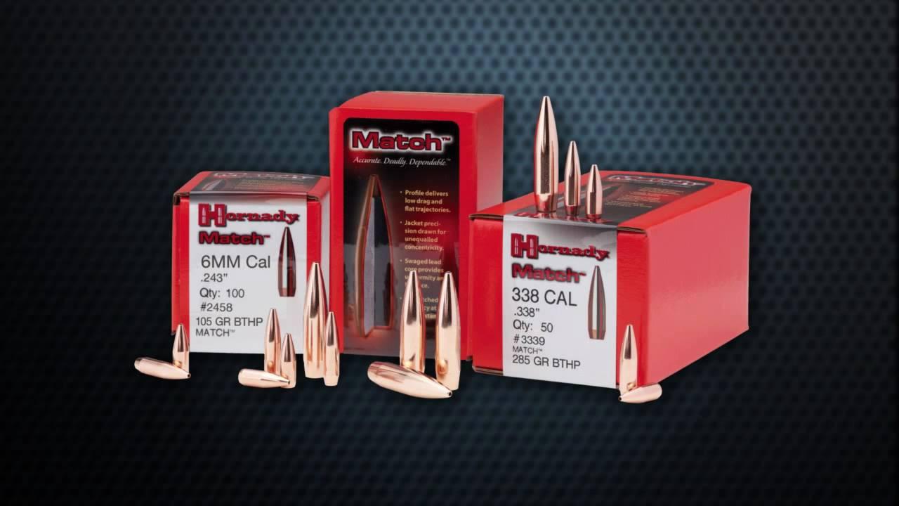 Hornady Match Rifle Bullets