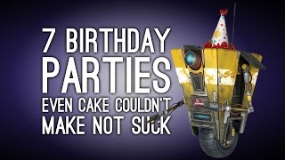 7 Awful Birthday Parties Even Cake Couldn't Make Not Suck