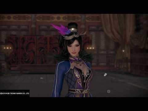 Zhen Ji story beginning, meeting Cao Cao DYNASTY WARRIORS 9