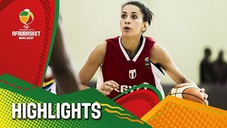 Egypt v Guinea - Highlights - FIBA Women's AfroBasket 2017