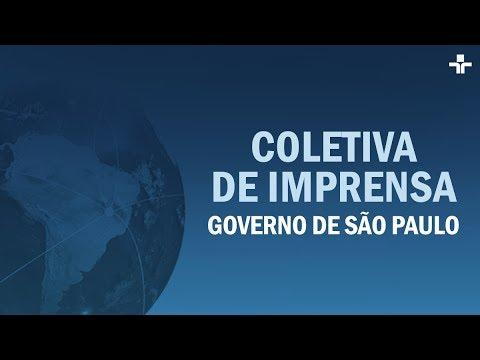 Coletiva de imprensa do Governo de SP | 06/04/2020