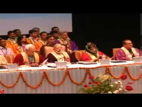 PM Shri Narendra Modi at the 5th Convocation of Shri Mata Vaishno Devi University in Katra