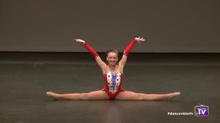 Madeline Eiffe Acro Solo - 9 Years Old Video