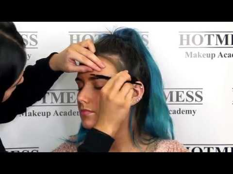 Hotmess Makeup Academy - Bright Blown Out Eyes