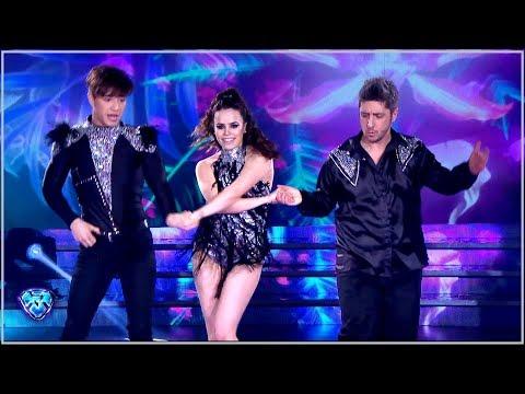 ¡Julián Serrano y Sofi Morandi bailaron Salsa de a tres con Jey Mammón!