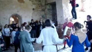 Цесис, замок Ливонского Ордена(Latvia, Cesis, Livonian Order castle, medieval style celebration., 2010-09-21T12:26:35.000Z)
