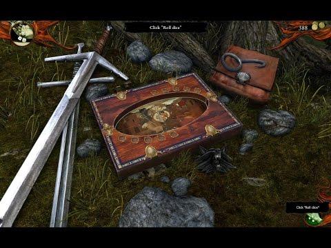The Witcher игра в покер с костями