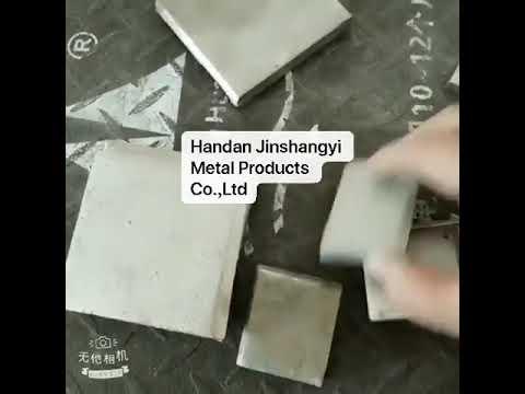 99.99% Electrolytic Nickel Metal Sheet/Plate 100g 2*2cm for ...
