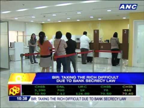 'Taxing the rich difficult due to bank secrecy law'