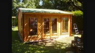 Ed And Clive Build A Log Cabin Part 2