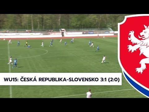 WU15: Česká republika- Slovensko 3:1 (2:0)