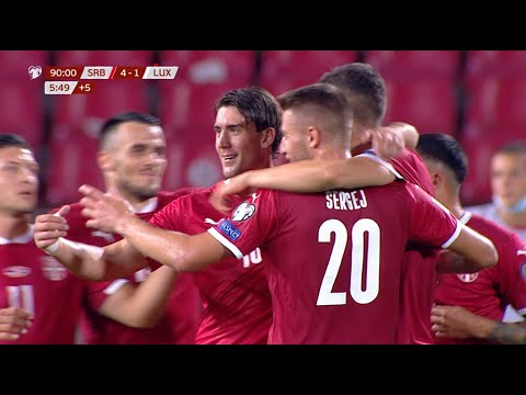 Serbia Luxembourg Goals And Highlights