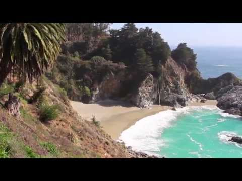 Saturdays in Big Sur (Pfeiffer Beach and McWay Falls)