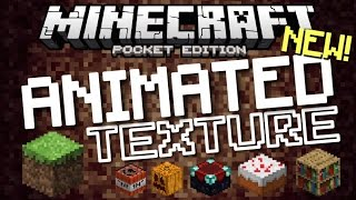 ✔️Minecraft PE 1.0.2 - ANIMATED TEXTURE PACK // iOS & Android [MCPE 1.0.2]