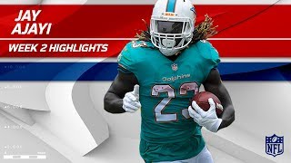 Jay Ajayi Tears Through LA for 122 Rushing Yards! | Dolphins vs. Chargers | Wk 2 Player Highlights