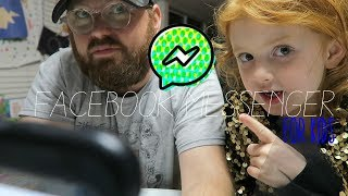 Facebook Messenger for Kids - Review First Look