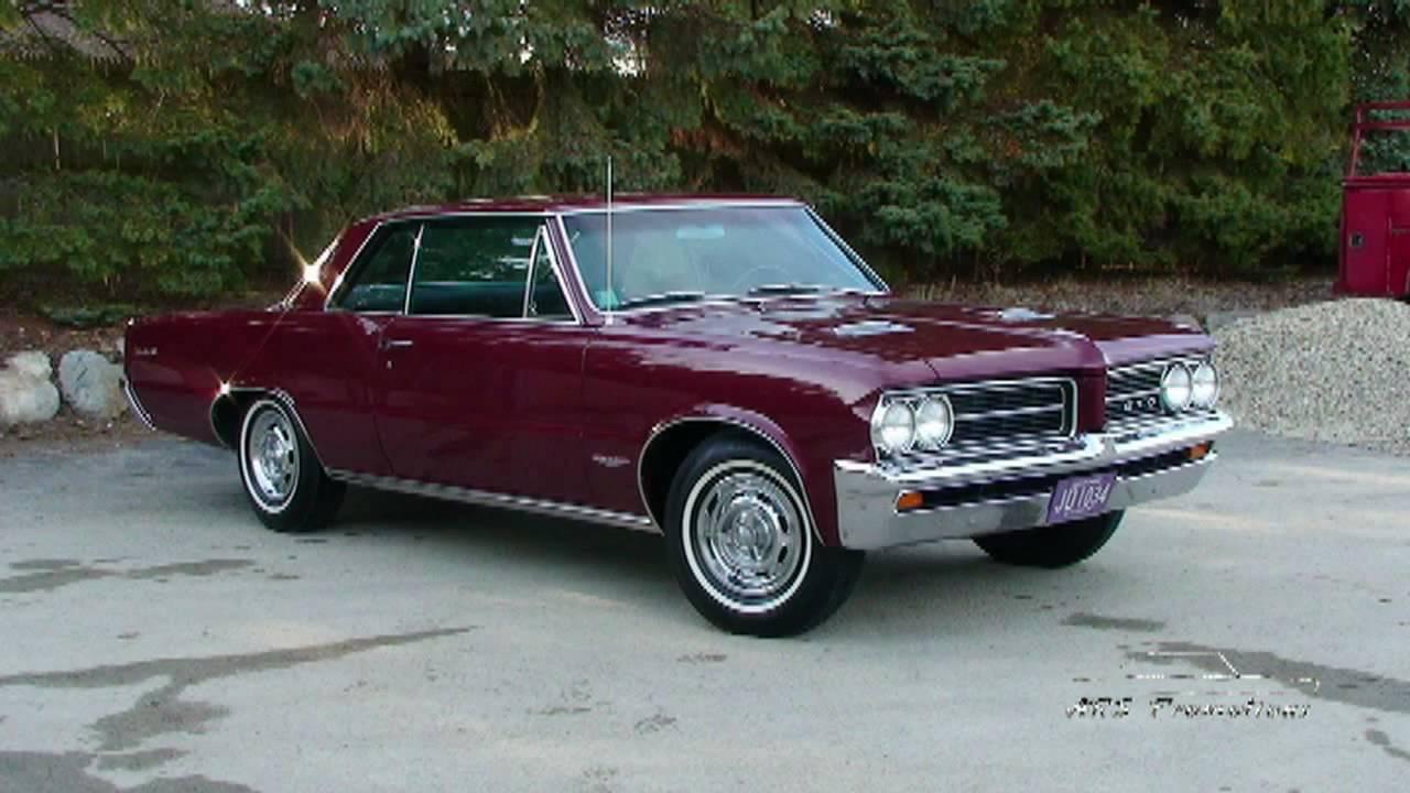 All Original 1964 Pontiac Gto Youtube