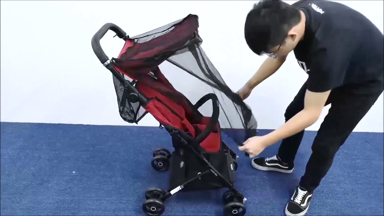 Carriage Type Strollers Seebaby A2 Backpack Type Stroller Cabin Size Ultralight Weight Foldable Reclinable Stroller