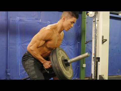 The Six Pack Shortcuts Bodybuilding Back Workout