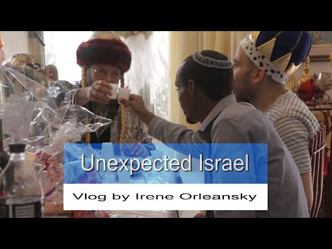 Purim And Shushan Purim Celebrations In The Golan Heights