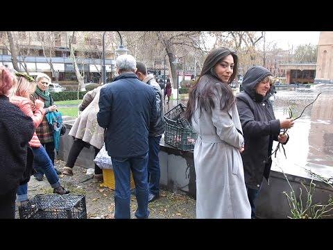 Yerevan, 09.04.17, Su, Video-1, (на рус) Вербное воскресенье ч.1