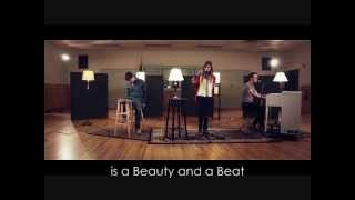 """Beauty And A Beat""- Alex Goot,Kurt Schneider, & Chrissy Costanza Cover (Video/Lyrics)"