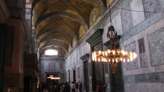 Inside the Hagia Sofia, Istanbul Turkey - Pt. 1