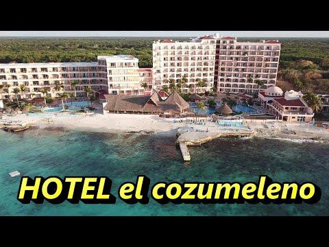 EL COZUMELENO BEACH RESORT 4*cozumel Mexico 4k Aerial