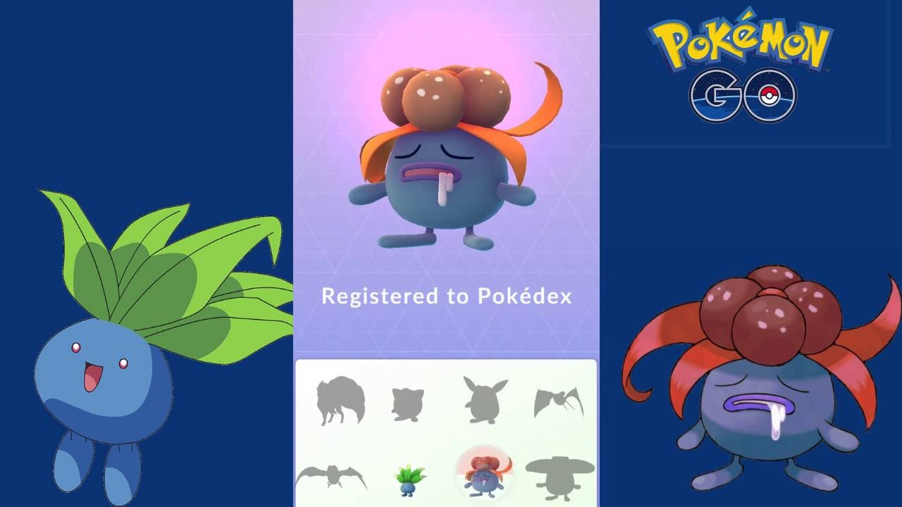 Uncategorized Gloom Pokemon pokemon go oddish evolve to gloom youtube