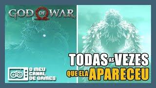 ELE APARECEU EM + DE 1 MOMENTO E VOCÊ NÃO VIU! [God of War]
