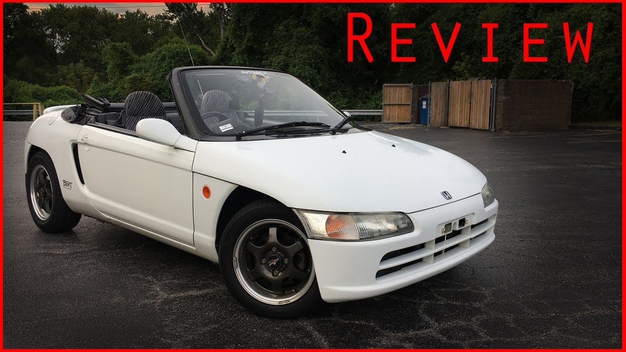 1992 Honda Beat Review - YouTube