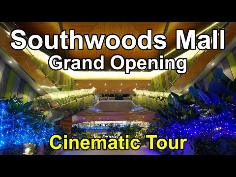 Southwoods Mall Grand Opening Day - Binan Laguna - Shops and Tenants - Trip Mall Tour Philippines