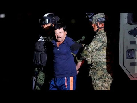 El Chapo is Caught, But Corruption, U.S. Consumption & Failed Drug War Keep the Cartels in Business