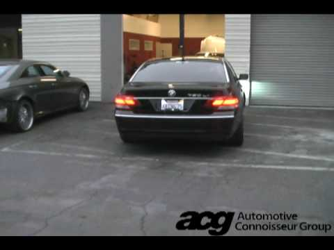 2006 Bmw 750i >> BMW 7-series e65/e66 750li - Meisterschaft GT SUS Exhaust (muffler only) - YouTube