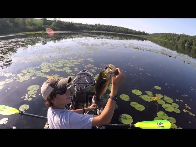 GoPro: Kayak Fishing Private lake with Native Slayer 12'