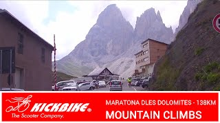 KICKBIKE MOUNTAIN CLIMBS - Variation on Maratona dles Dolomites