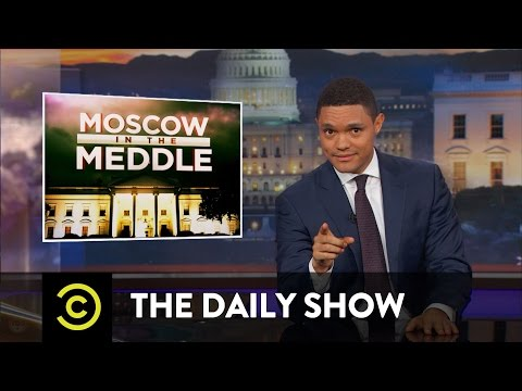 Thumbnail: Moscow in the Meddle - President Trump Can't Be Trusted with Secrets: The Daily Show