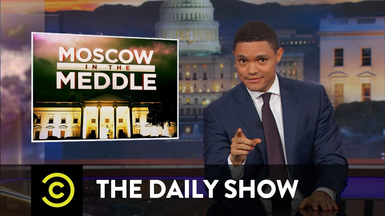 Moscow in the Meddle – President Trump Can't Be Trusted with Secrets: The Daily Show