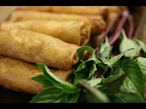 how to make vietnamese spring rolls youtube