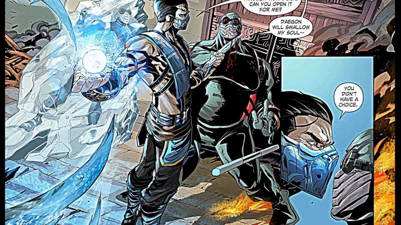 Mortal Kombat X Comic Book