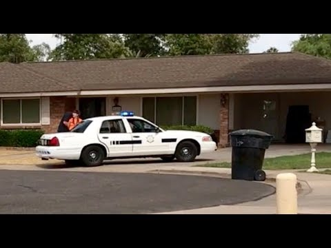 My crazy neighbor billy busted by the cops.