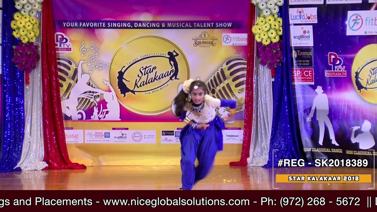 Registration NO - SK2018389 - Star Kalakaar 2018 Finals - Performance