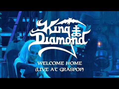 "King Diamond ""Welcome Home (Live at Graspop)"" (CLIP)"