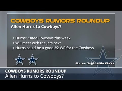 Cowboys Rumors: Latest On Signing Allen Hurns, Randy Gregory's Return And Dez Bryan