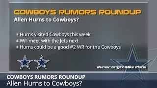 Cowboys Rumors: Latest On Signing Allen Hurns, Randy Gregory's Return And Dez Bryant