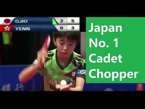 [TT Junior] Hongkong Cadet Final, Ojio Haruna (小塩遥菜 ) Chopper No.1